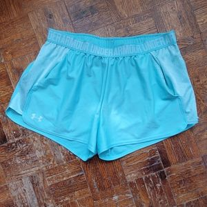 Teal Under Armour Shorts